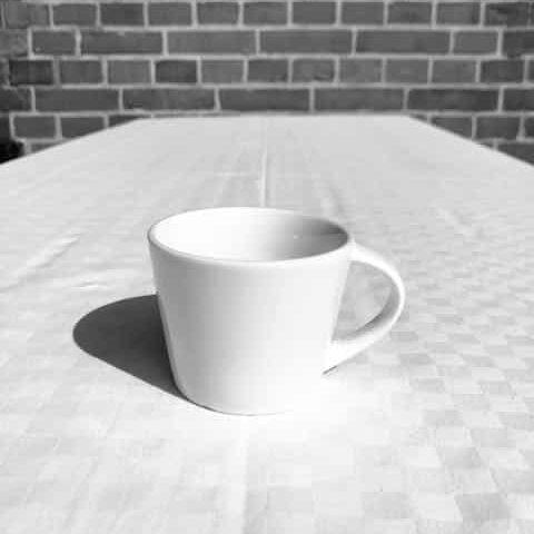 Kaffekopp hyra porslin
