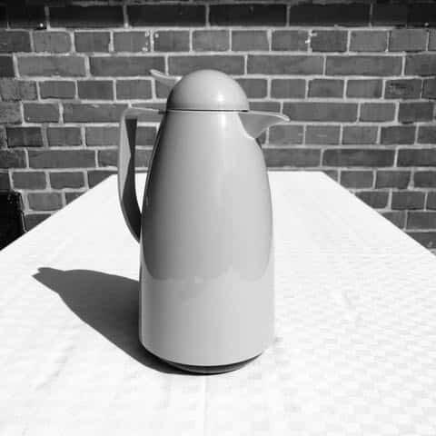 Termos te-vatten 1liter hyra porslin